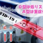 【コロナ】血液O型は低リスクA型は重症化する恐れ!予防必須アイテムと対策
